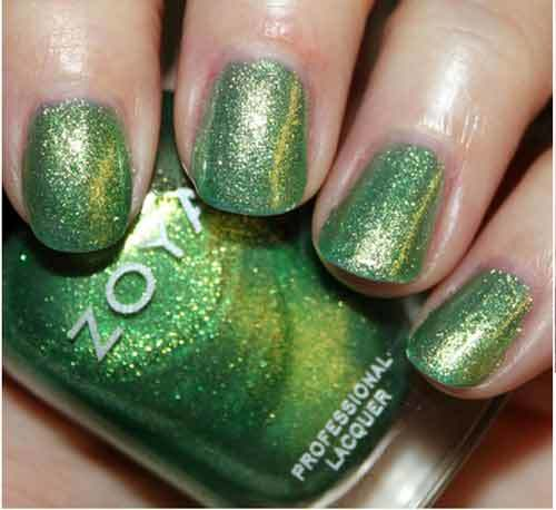 zoya nail polish apple swatch