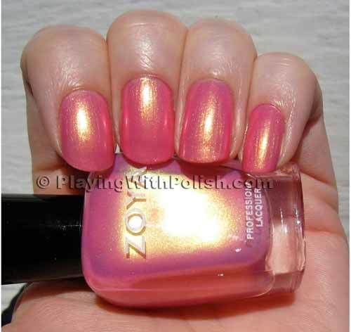 zoya nail polish happi swatch