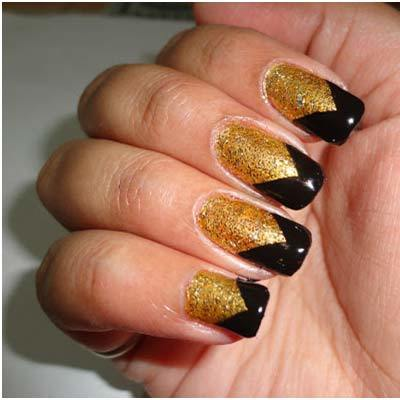 chevron nail art tutorial 2