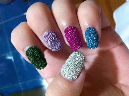 textured nail trends