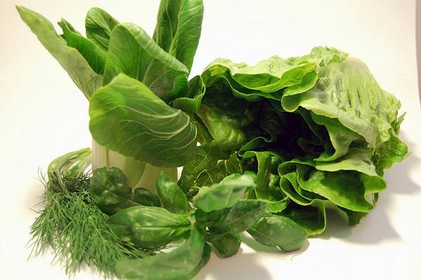 green leafy vegetables for eye health