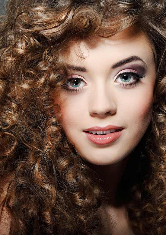 hairstyle of Tight-Curls