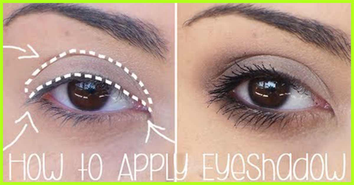 how to apply eyeshadows for beginners step by step tutorial rh stylecraze com