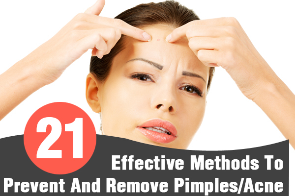 how to prevent and remove pimples
