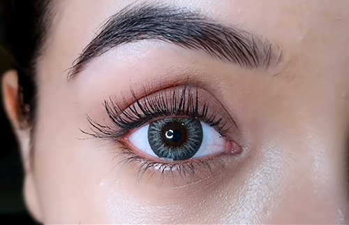 long and full lashes