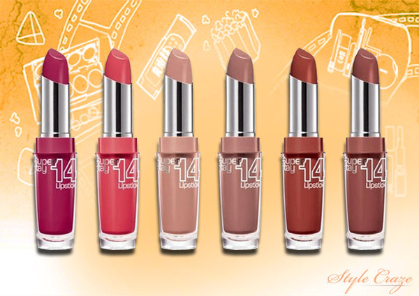 Maybelline Lipsticks