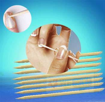 toothpick for nails