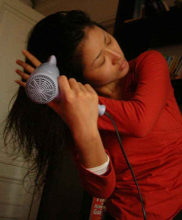 blow dry your hair fast