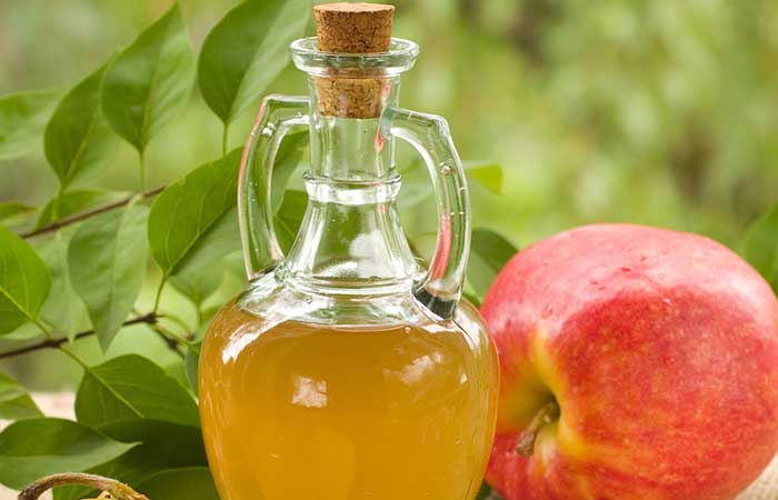 Hair Care While Swimming - Apple Cider Vinegar Wash
