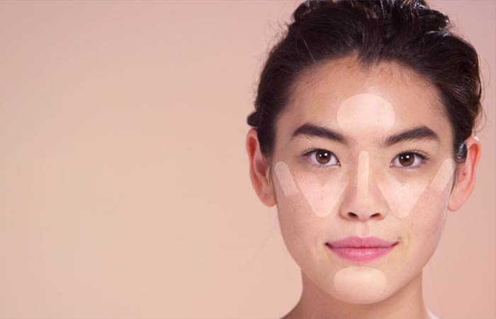 How To Contour Your Face - Highlighting For Round Face