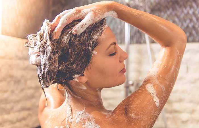 Hair Care While Swimming - Shampoo Your Hair
