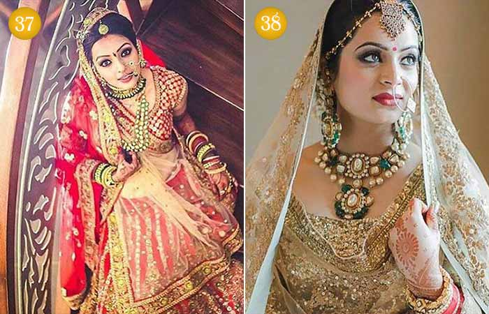 Beautiful Indian Bridal Makeup Looks - Hindu Bridal Looks 3 & 4