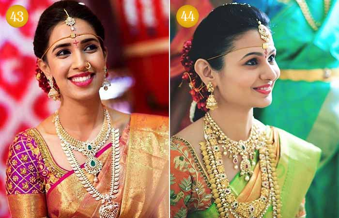 Beautiful Indian Bridal Makeup Looks - Telugu Wedding Makeup Looks 3 & 4