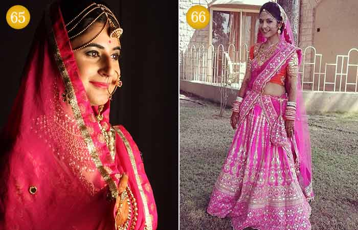 8c23df7c0f 100 Most Beautiful Indian Bridal Makeup Looks - Dulhan Images
