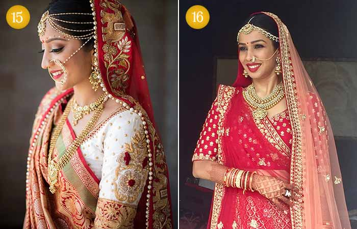 Beautiful Indian Bridal Makeup Looks - Gujarati Bridal Looks 3 & 4