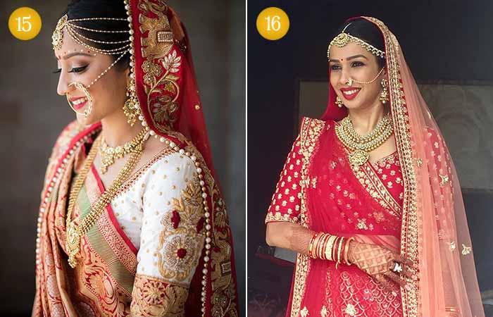 Beautiful Indian Bridal Makeup Looks - Gujarati Bridal Looks 3 & 4