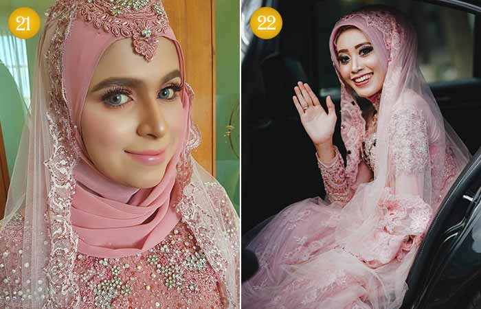 Islamic Bridal Makeup Look
