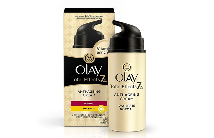 11. Olay Total Effects 7-in-1 Anti Aging Skin Day Cream