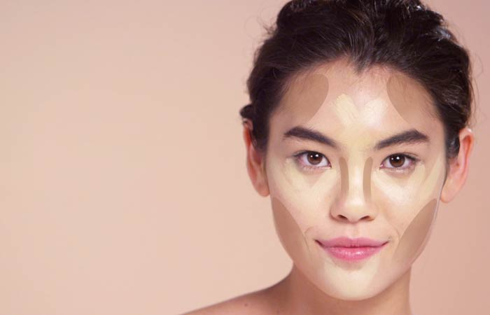 How To Contour Your Face - Contouring For Round Face