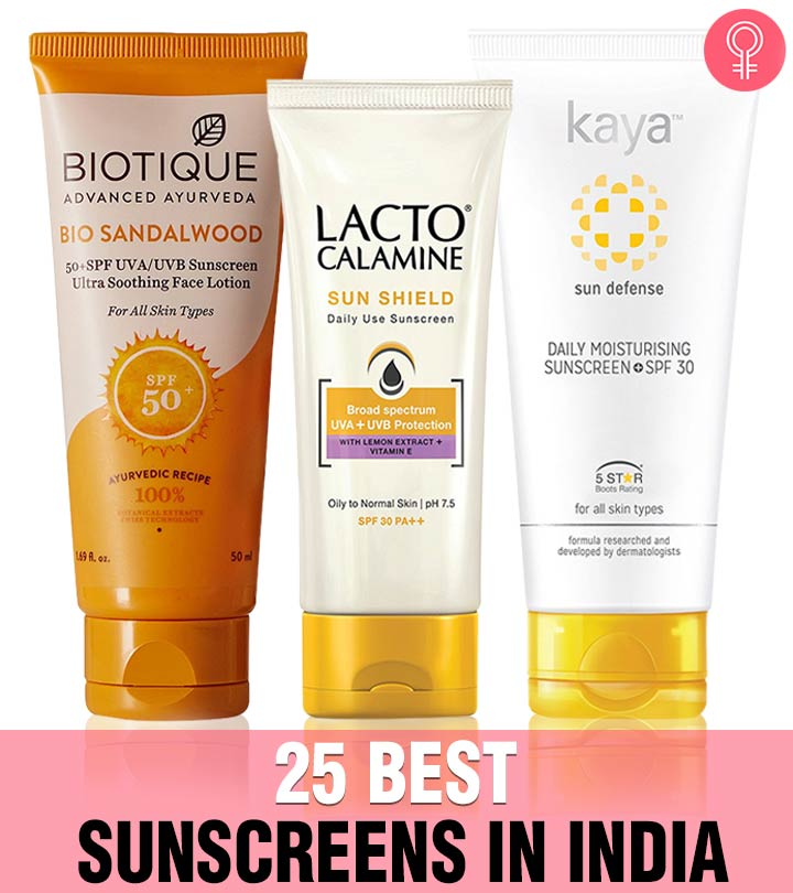 25 Best Sunscreens In India