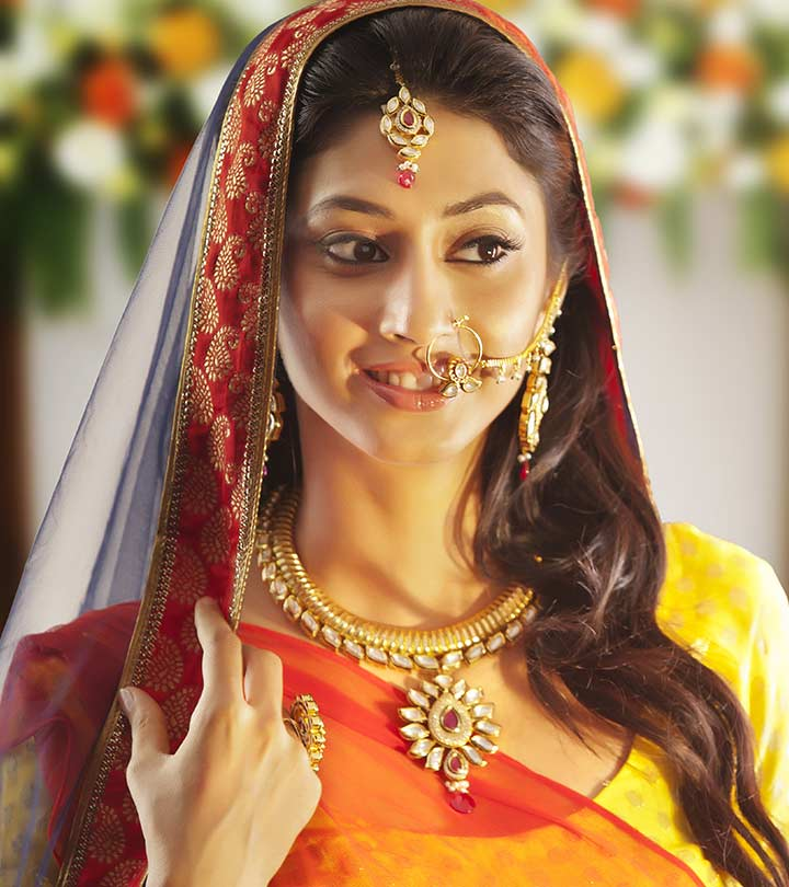 a9e2be53c 100 Most Beautiful Indian Bridal Makeup Looks - Dulhan Images