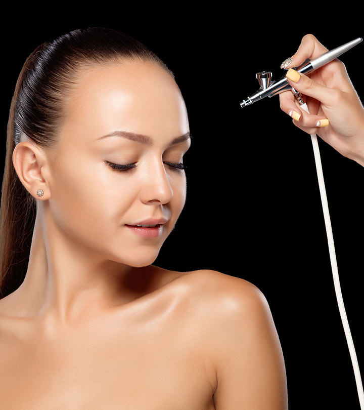 How To Apply Airbrush Makeup