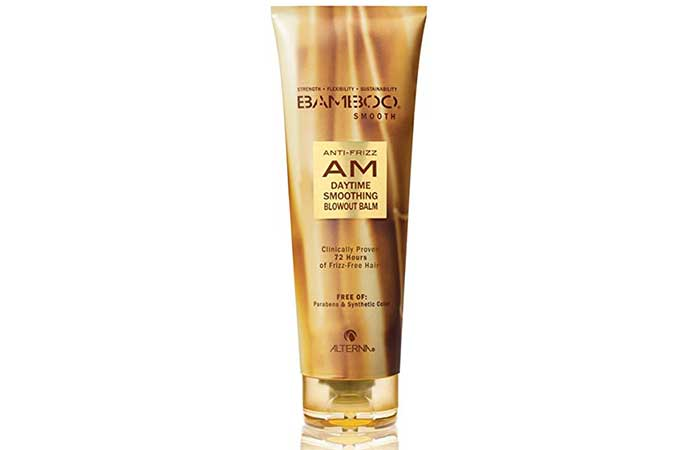 4. Alterna Bamboo Smooth Anti-Frizz Smoothing Balm