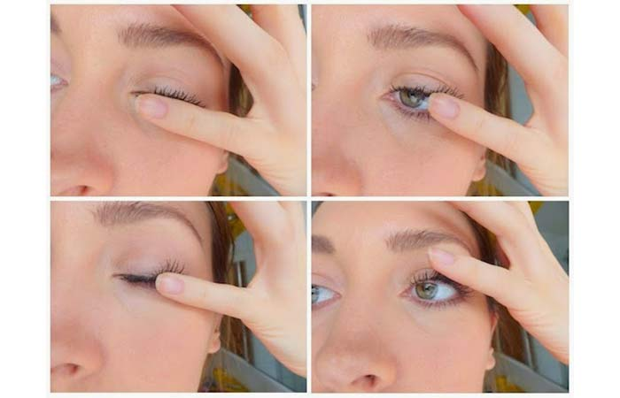 5. How To Curl Eyelashes With Warm Hands