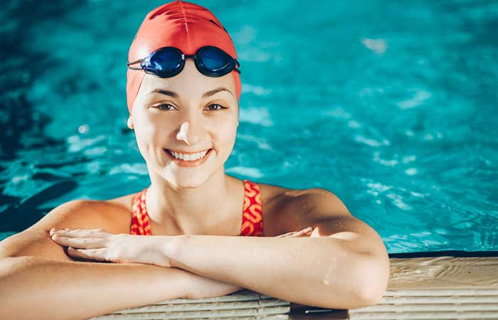 Hair Care While Swimming - Wear A Swimming Cap