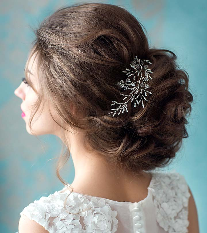 Hairstyles For Girls In Wedding: 50 Fabulous Bridal Hairstyles For Short Hair