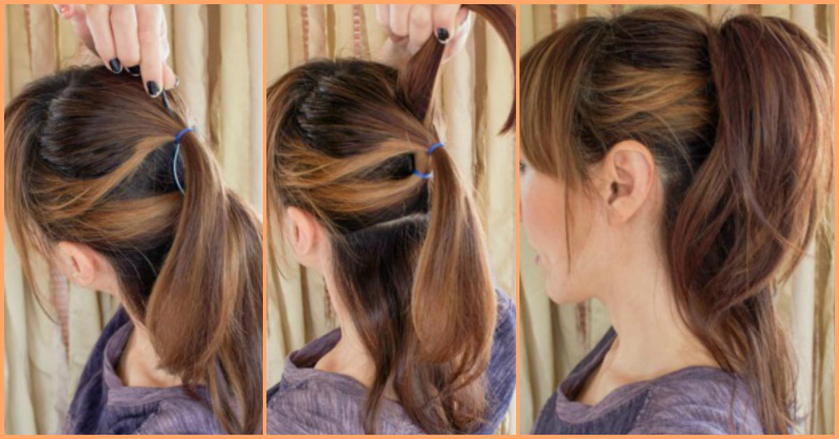53 Easy To Do Ponytail Hairstyles For Girls