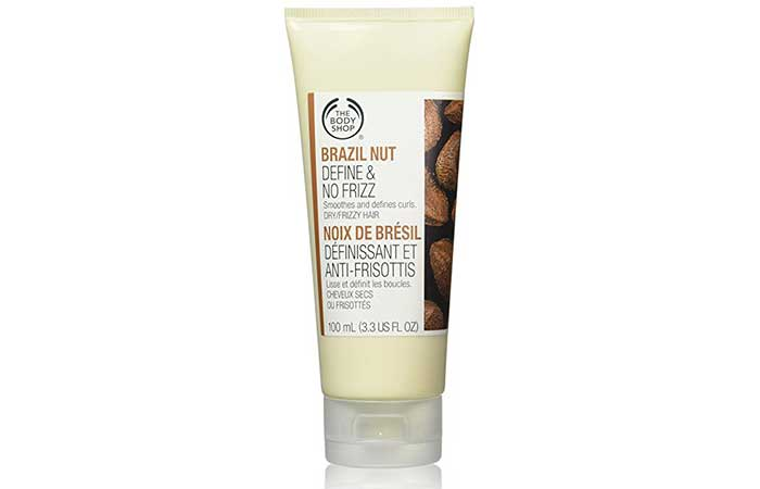 6. The Body Shop Brazil Nut Styling Cream