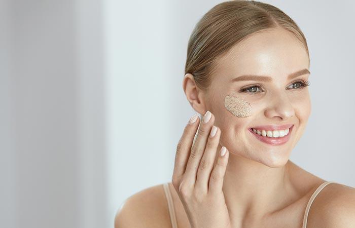 7. As A Facial And Hand Scrub