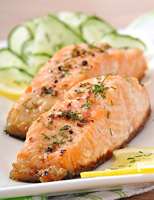 Diet Plan For Glowing Skin - Fish And Fish Oil