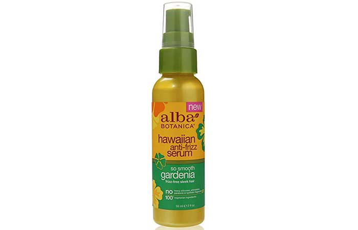 9. Alba Botanica Hawaiian Anti-Frizz Serum