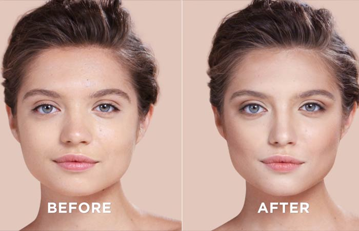 How To Contour Your Face - And you see the difference
