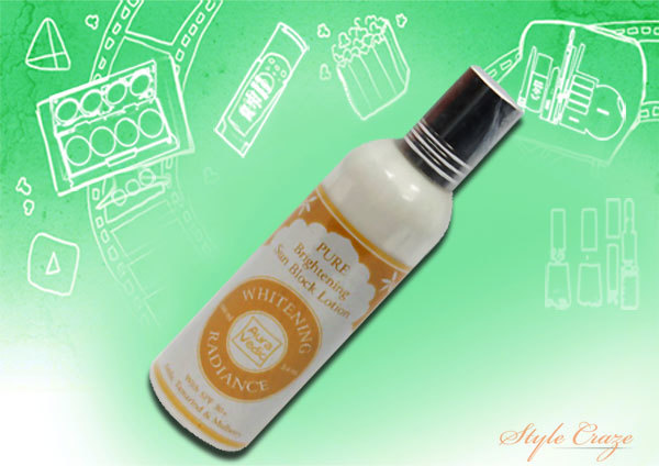 Auravedic Pure Brightening Whitening Radiance Sunblock Lotion SPF 30