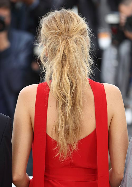 Beautifully Messy Ponytail