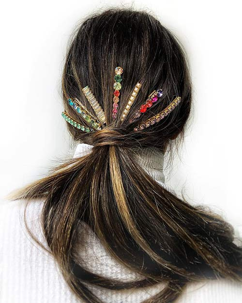 Bedazzled Ponytail