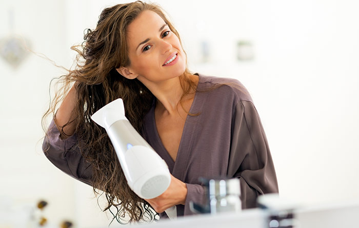 Begin The Blow Dry - Blow Dry Hair