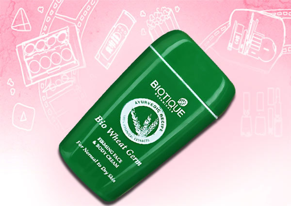 biotique bio wheat germ firming face & body cream