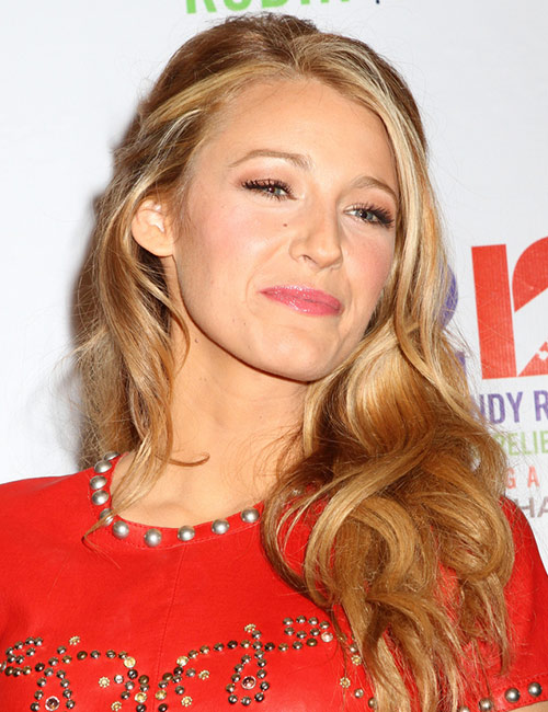 Blake Lively's Classic Half Updo