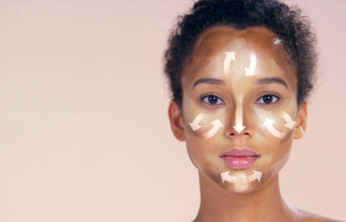 How To Contour Your Face - Blending For Oval And Oblong Face
