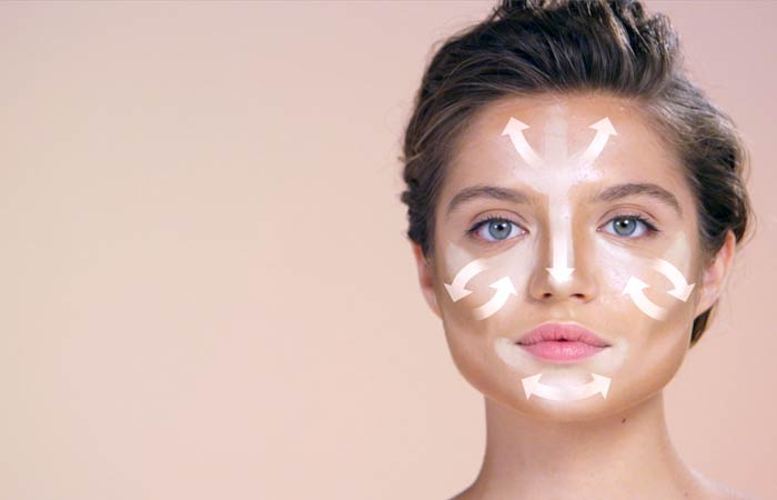 How To Contour Your Face - Blending For Square Face