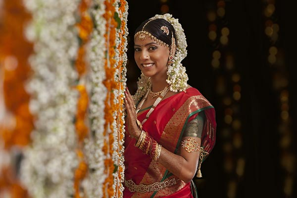 Most Beautiful Indian Bridal Looks - South Indian Bridal Look