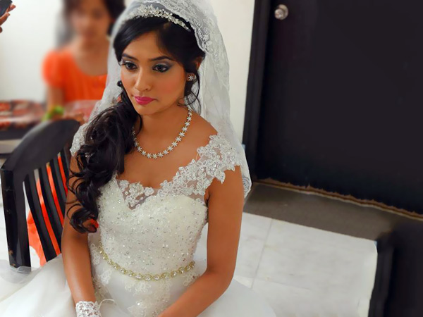 Indian Christian Bridal Makeup | www.pixshark.com - Images ...