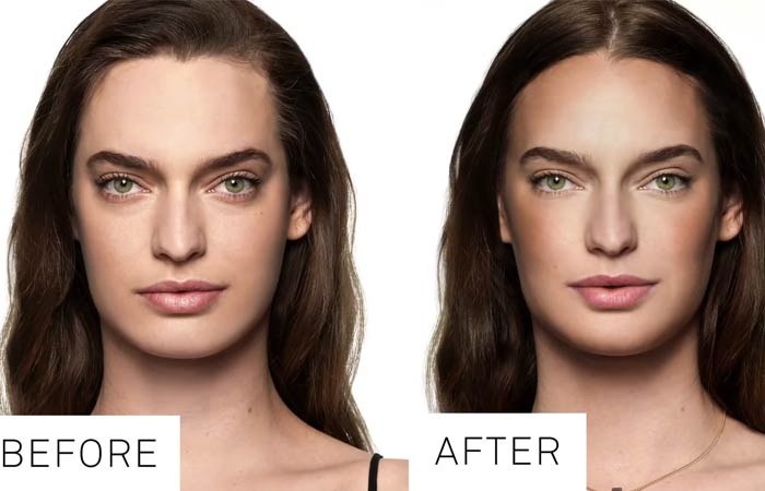 Contouring For Rectangle Face