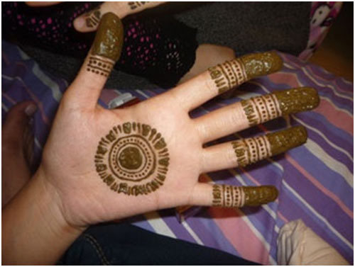 Mehndi Designs For Hands Very Simple : Amazing pakistani mehndi designs to try in