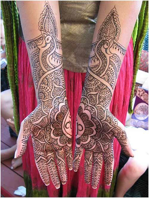 8 Amazing Pakistani Mehndi Designs To Try In 2018-19