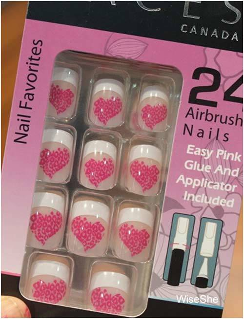 Faces Nail Favorites Airbrush Nails